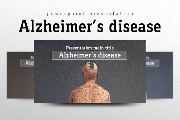alzheimers disease presentation templates creative market