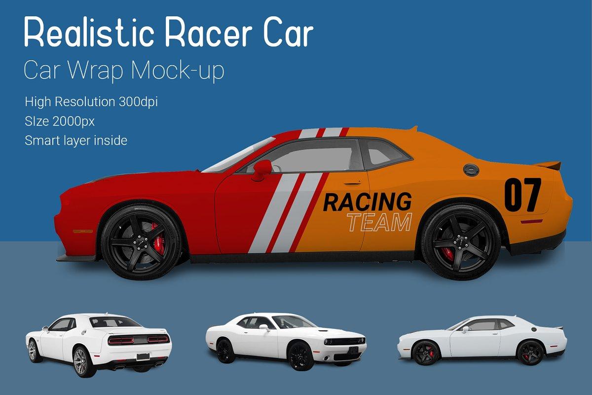 Nascar Racer Car Mock-Up