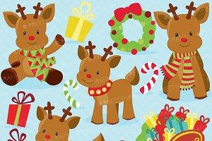 Christmas Reindeer clipart