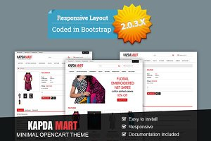 Kapda Mart - Minimal OpenCart Theme