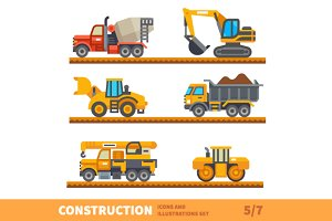 Transport  for construction