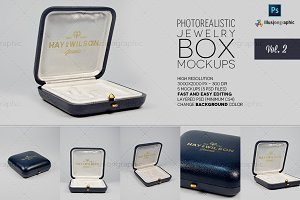 Logo on Jewelry Box Mockups v.2