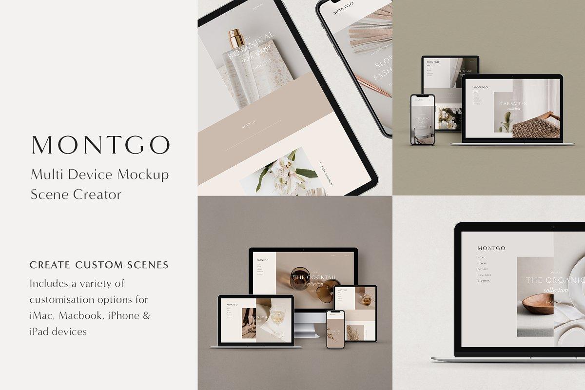 Multi Device Mockup Scene Creator in Scene Creator Mockups - product preview 8
