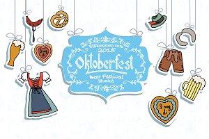 Oktoberfest design template