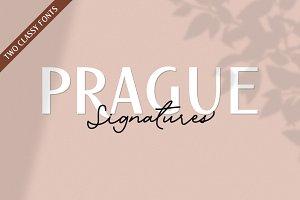 Prague Signatures // Font Duo