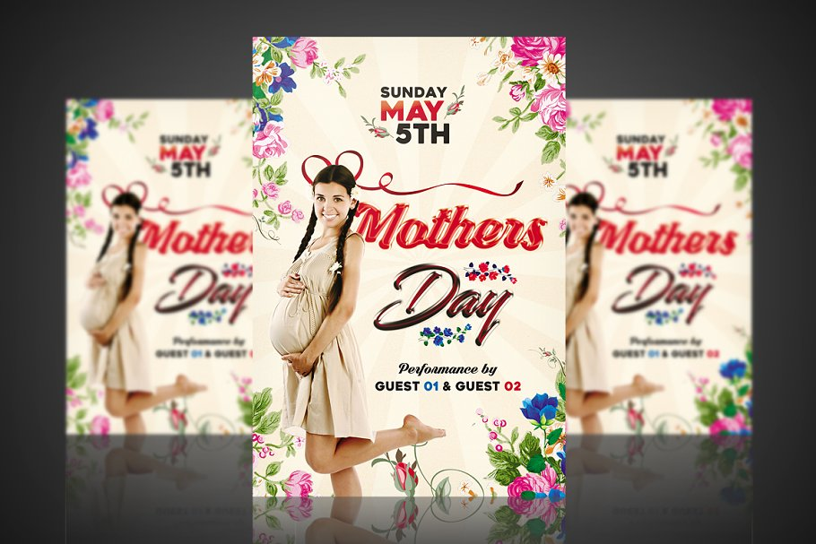 Mother's Day - Flyer / Poster 02