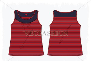 Women Sport Fashion Tank