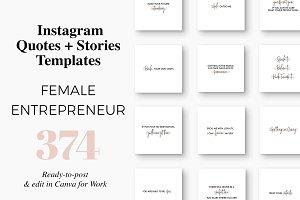 Instagram Templates ~ Creative Market