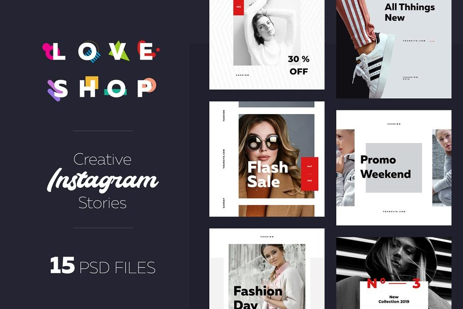 Instagram Shopping Banner 02 in Instagram Templates