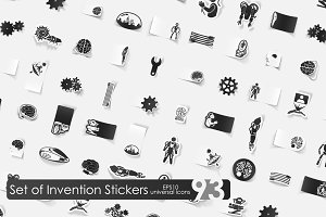 93 invention stickers
