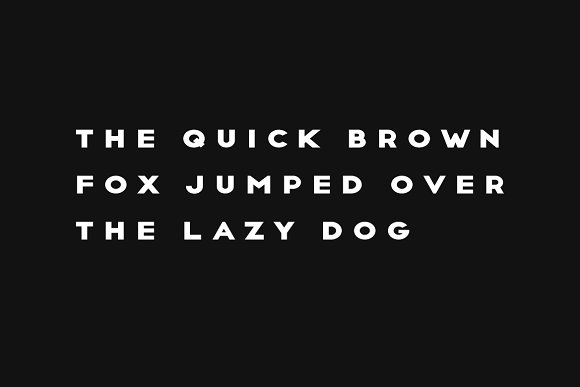CRUX - Minimal Display Typeface
