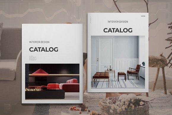 Interior Design Product Catalog Creative Indesign Templates Creative Market