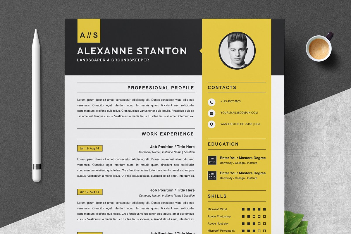Resume Template Cv Design Template Creative Daddy