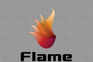 FLame Logo Tempelates