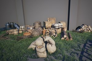 Medieval Props Pack