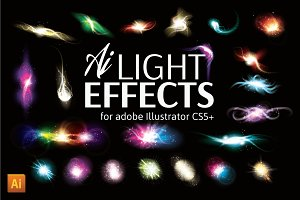 Vector Light Effect Set