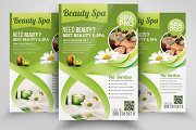 Herbal Spa Beauty Flyer Template