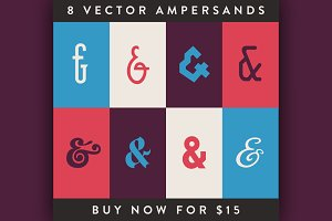 8 Vector Ampersands