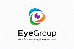 Eye Group Logo Template