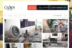 Crown Creative Blogger Template