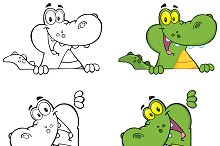 Crocodile Character Collection - 2