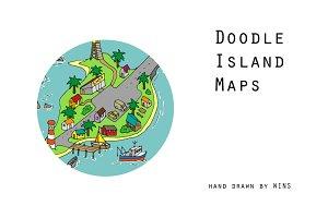 Doodle island maps