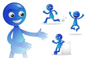 Blue Person Activity 1
