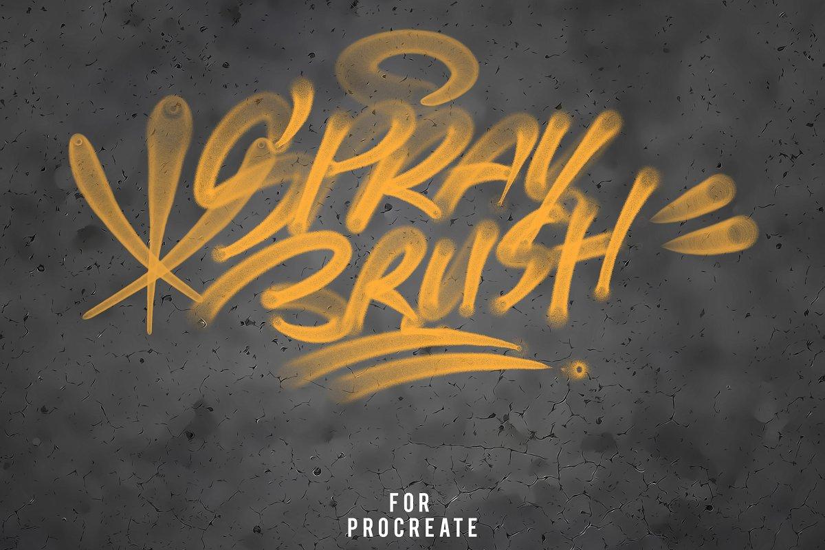 Procreate Graffiti Brush Set ~ Procreate Brushes ~ Creative