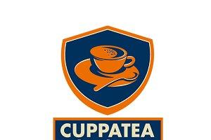 Cuppa Tea Gourmet Beverage Logo