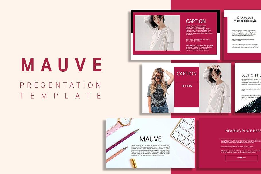 MAUVE - Classy Presentation