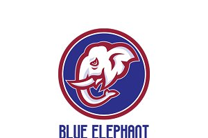 Blue Elephant Indian Cuisine Logo