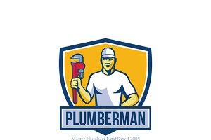 Plumberman Master Plumber Logo