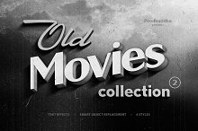 Old Movie Titles Collection 2 by  in Layer Styles