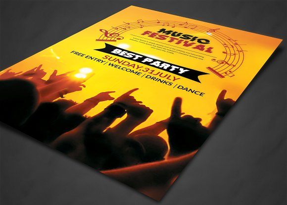 Club Flyer in Flyer Templates - product preview 1