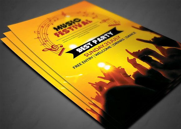 Club Flyer in Flyer Templates - product preview 2