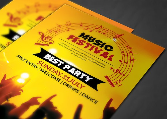 Club Flyer in Flyer Templates - product preview 3