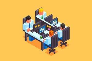 Isometry Office Life