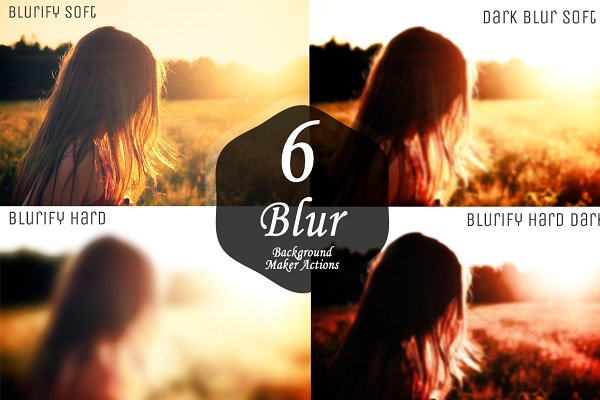 Blurred Background Maker Actions