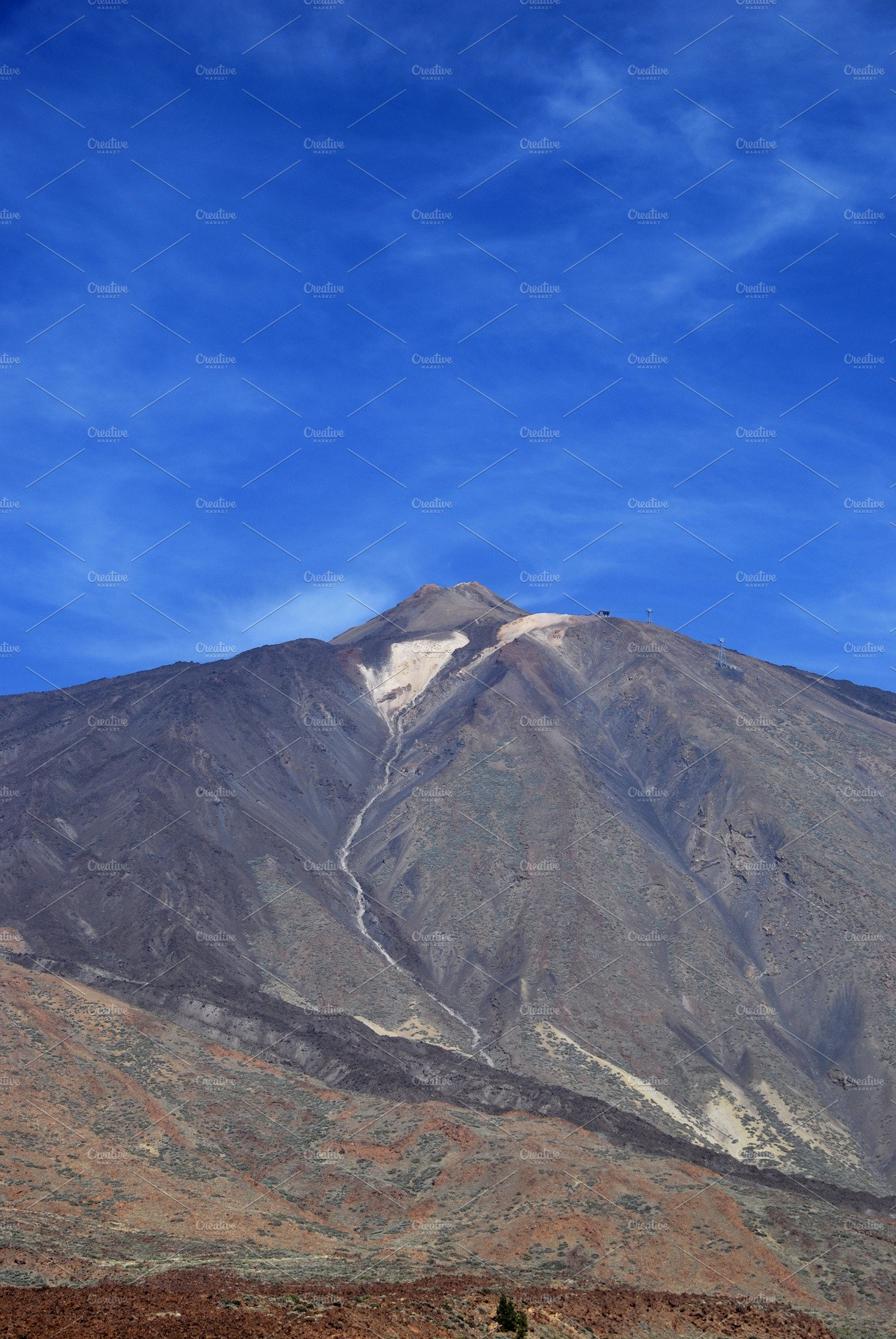 Mount Teide On The Island Of Tenerife In The Canary