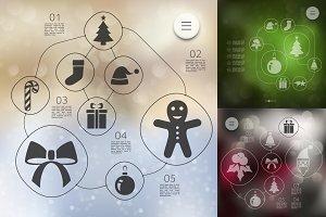 9 Christmas infographics