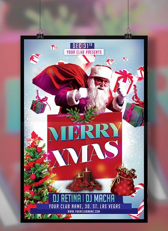 Merry Xmas Flyer