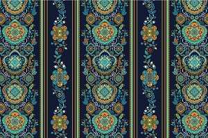 4 Ornamental Seamless Patterns