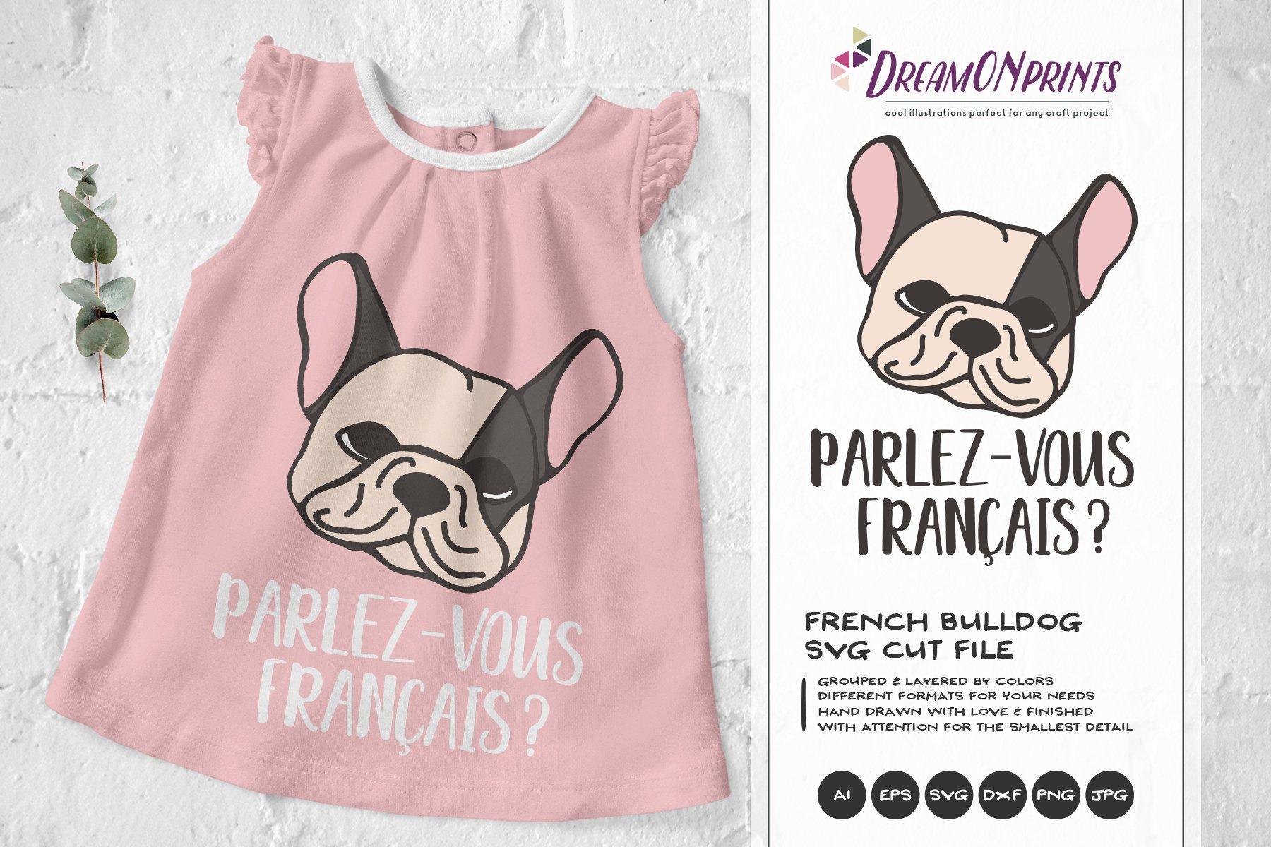French Bulldog Svg Illustration Pre Designed Photoshop Graphics Creative Market