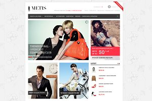 METIS - Responsive OpenCart 1.5.x