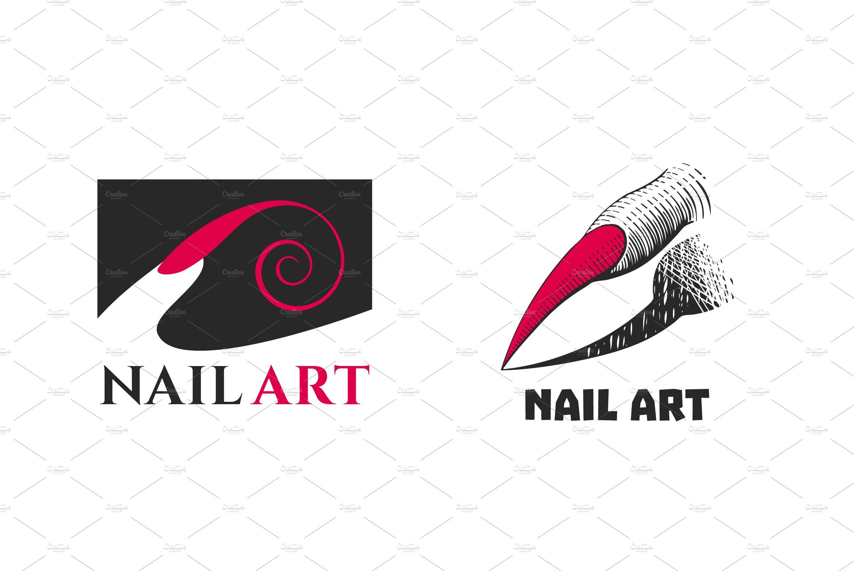 3- Get Inspired For Nail Art Logo Vector @koolgadgetz.com.info