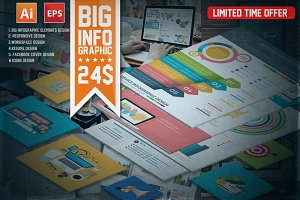 BIG INFOGRAPHIC ELEMENTS DESIGN
