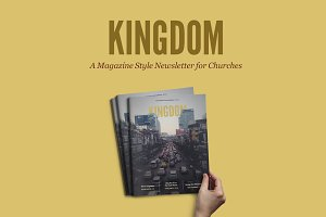 Kingdom Magazine InDesign Template