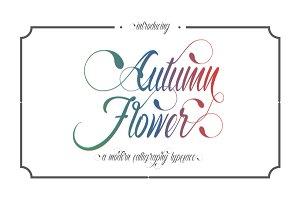 Autumn Flower Script