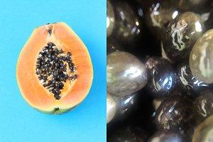 Papaya + macro