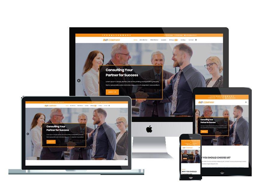 LT Company Onepage Joomla Template